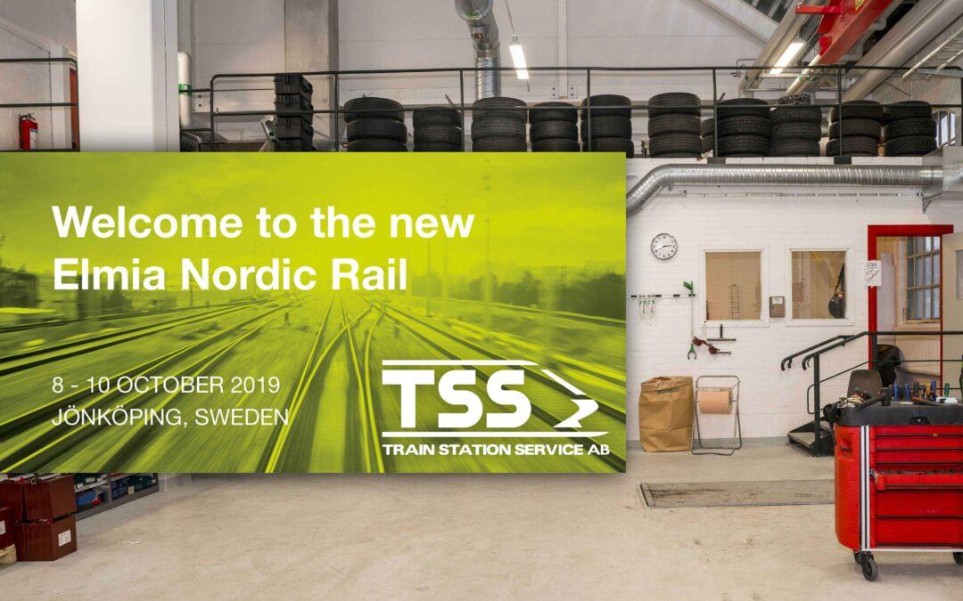 Vi ställer ut på Nordic Rail i Elmia