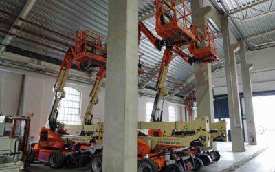 Säkra arbeten på spår och hög höjd